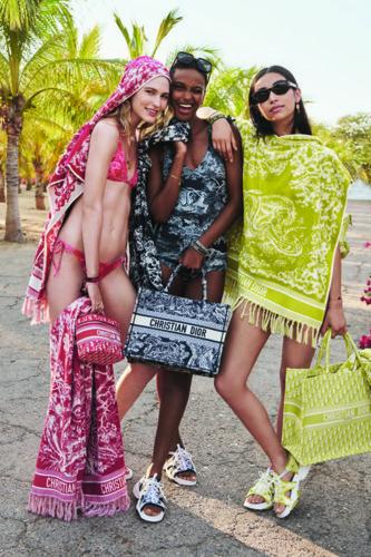 ابتكارات Dior Maison لمجموعة الكبسولة DIORIVIERA