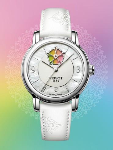 جميع ألوان قوس قزح في ساعة Tissot