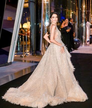 جميلات العرب يثرن الدهشة بمجوهرات تيفاني أند كو