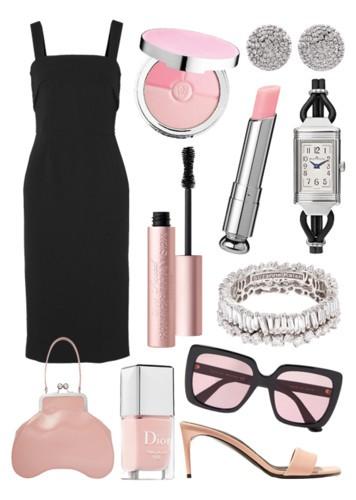 3 إطلالات لفستان Dolce&Gabbana الأسود الكلاسيكي