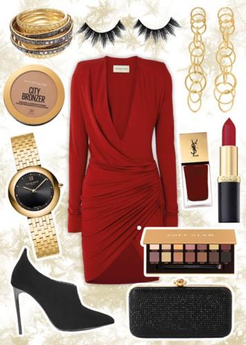 أي فستان أحمر ستختارين لسهرتك؟