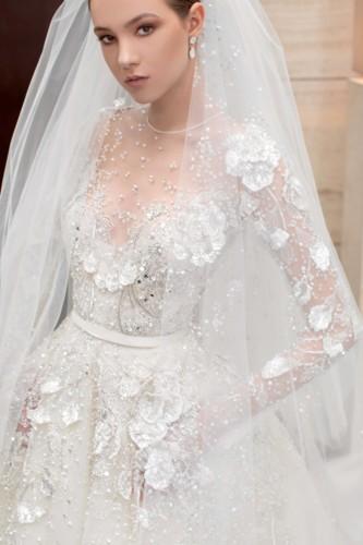 فساتين زفاف 2021-2022 للعروس الإماراتية