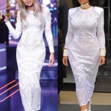 من هي الأجمل بفستان بالمان: مايا دياب أم كيم كردشيان؟