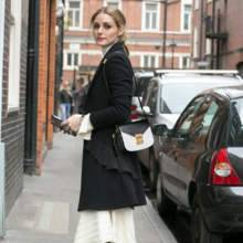 أوليفيا باليرمو تحمل حقيبة مميزة من MCM