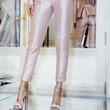 أحذية وطلاء أظافر Louboutin في عرض أزياء رامي العلي