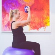 البلاتيس من أفضل التمارين الرياضية للمرأة الحامل