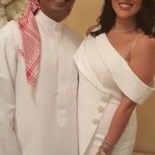 عقد قران الإعلامي خالد الشاعر ونور الشيخ!