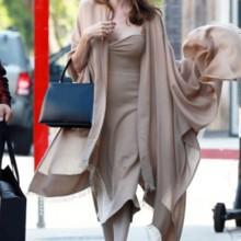 أنجلينا تتسبب بزيادة الطلب على هذه الحقيبة!