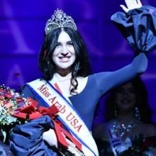 عراقية تفوز بلقب ملكة جمال العرب في أميركا