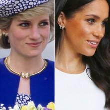 كم مرة تألقت ميغان بمجوهرات الأميرة ديانا؟