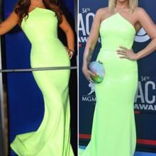 منافسة بين نجوى كرم وميراندا لامبير بسبب هذا الفستان