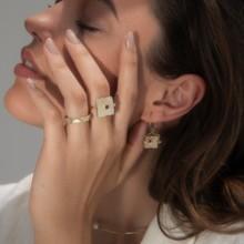 الخواتم المكدّسة من مجوهرات MKS