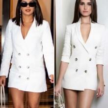 من الأجمل بالفستان الأبيض؟