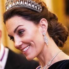 للمرة العاشرة، كيت ميدلتون بتاج الأميرة ديانا