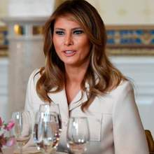 لن تتخيّلي كم يبلغ ثمن معطف ميلانيا ترامب
